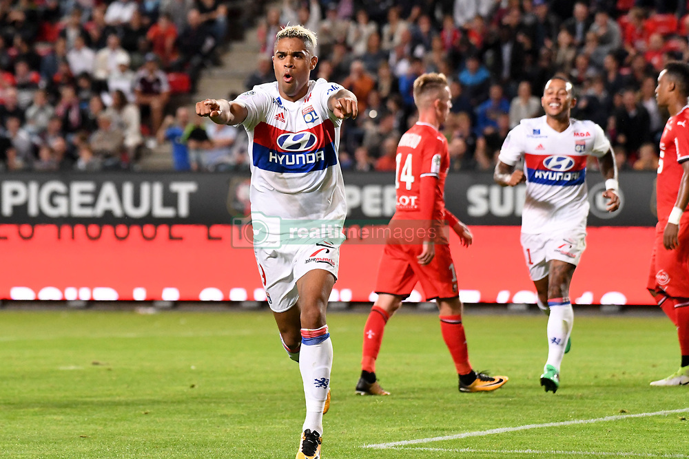 August 11, 2017 - Rennes, France - 09 Mariano DIAZ (ol) - JOIE (Credit Image: © Panoramic via ZUMA Press)