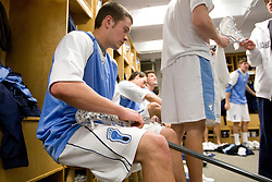 05 April 2008: North Carolina Tar Heels defenseman Kerry McCormick (41) before playing the Virginia Cavaliers in Chapel Hill, NC.