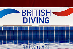 British Diving branding - Photo mandatory by-line: Rogan Thomson/JMP - 07966 386802 - 21/02/2015 - SPORT - DIVING - Plymouth Life Centre, England - Day 2 - British Gas Diving Championships 2015.