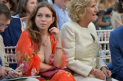 AYESHA SHAND at the Quintessentially Foundation and Elephant Family 's 'Travels to My Elephant' Royal Rickshaw Auction presented by Selfridges and hosted by HRH The Prince of Wales and The Duchess of Cornwall held at Lancaster House, Cleveland Row, St.James's, London on 30th June 2015.
