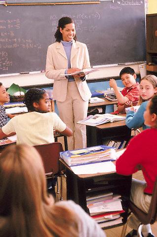 Classroom --- Image by © Jim Cummins/CORBIS