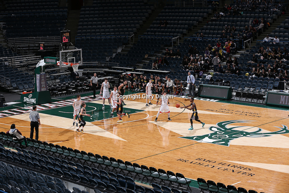 MILWAUKEE, WI - February 7: This image was made during the 2014-2015 Prep Series game between Jacobs and Libertyville on February 7, 2015 at the BMO Harris Bradley Center in Milwaukee, Wisconsin.