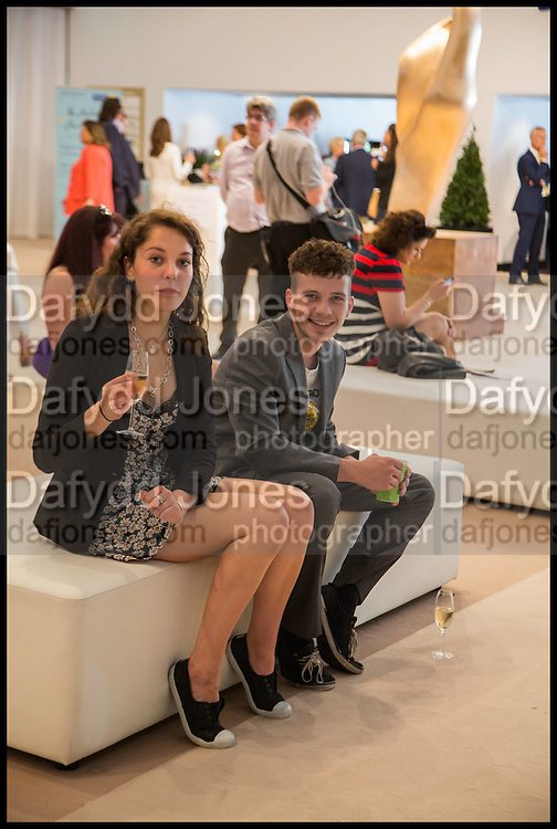 ZARYA AUSTIN-FELL; JEREMY KENT, Masterpiece London 2014 Preview. The Royal Hospital, Chelsea. London. 25 June 2014.