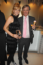 SHARON MAUGHAN and NICK WAINWRIGHT at a party to launch jeweller Boodles new store at 178 New Bond Street, London W1 on 26th September 2007.<br /><br />NON EXCLUSIVE - WORLD RIGHTS