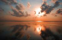 Breathtaking Bali Sunrise, Indonesia.