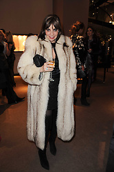 CAROLE SILLER at a party to celebrate the publication of Nathalie von Bismarck's book 'Invisible' held at Asprey, 167 New Bond Street, London on 9th December 2010.