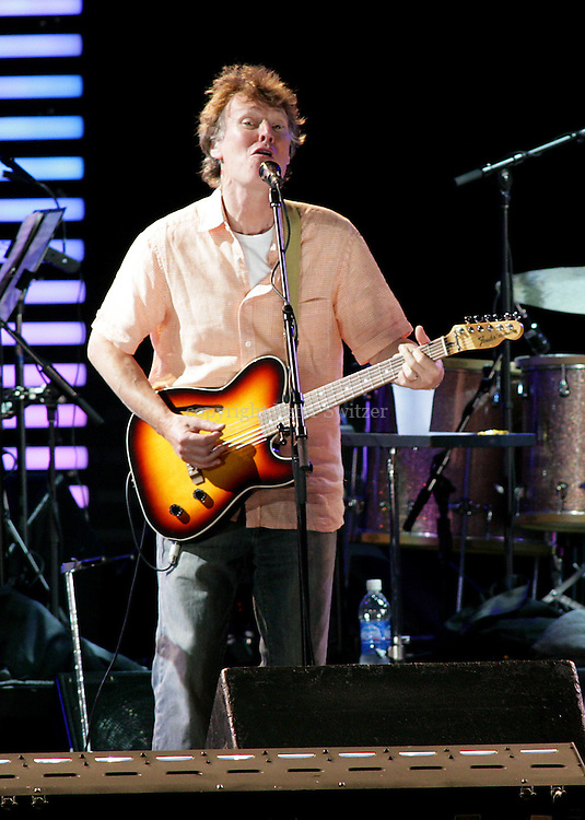 Steve Winwood played nothing short of incredible set at the Crossroads Guitar Festival at Toyota Park in Bridgeview, Illinois July 28, 2007.   Photo © Peter Switzer 2007