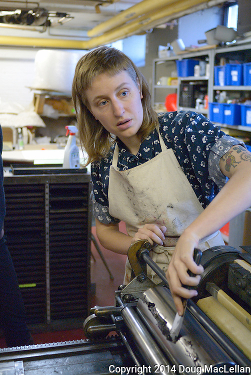 Emily Davidson offeres two printing workshops at <br />