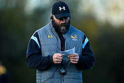 Wasps Head of Strength and Condition Dan Baugh during training ahead of the European Challenge Cup fixture against SU Agen - Mandatory by-line: Robbie Stephenson/JMP - 18/11/2019 - RUGBY - Broadstreet Rugby Football Club - Coventry , Warwickshire - Wasps Training Session