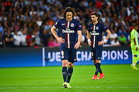 Deception Edinson CAVANI - 15.04.2015 - Paris Saint Germain / Barcelone - 1/4Finale Aller Champions League<br />