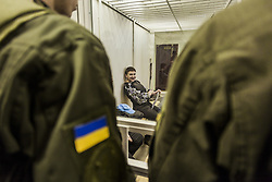 March 29, 2019 - Kiev, Kiev, Ukraine - Nadiya Shavchenko inside a jail cell in the Kiev Court of Appeal after being accused of charges of plotting an attack on parliament. She rejected the charges and claims that it is an attempt by President Petro Poroshenko's government to get rid of a challenger in the presidential elections on March (Credit Image: © Celestino Arce Lavin/ZUMA Wire)