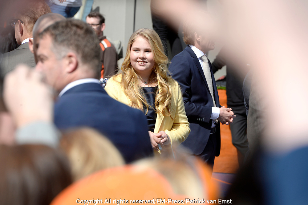 Koningsdag 2017 in Tilburg / Kingsday 2017 in Tilburg<br /> <br /> Op de foto / On the photo:  Prinses Amalia / Princess Amalia