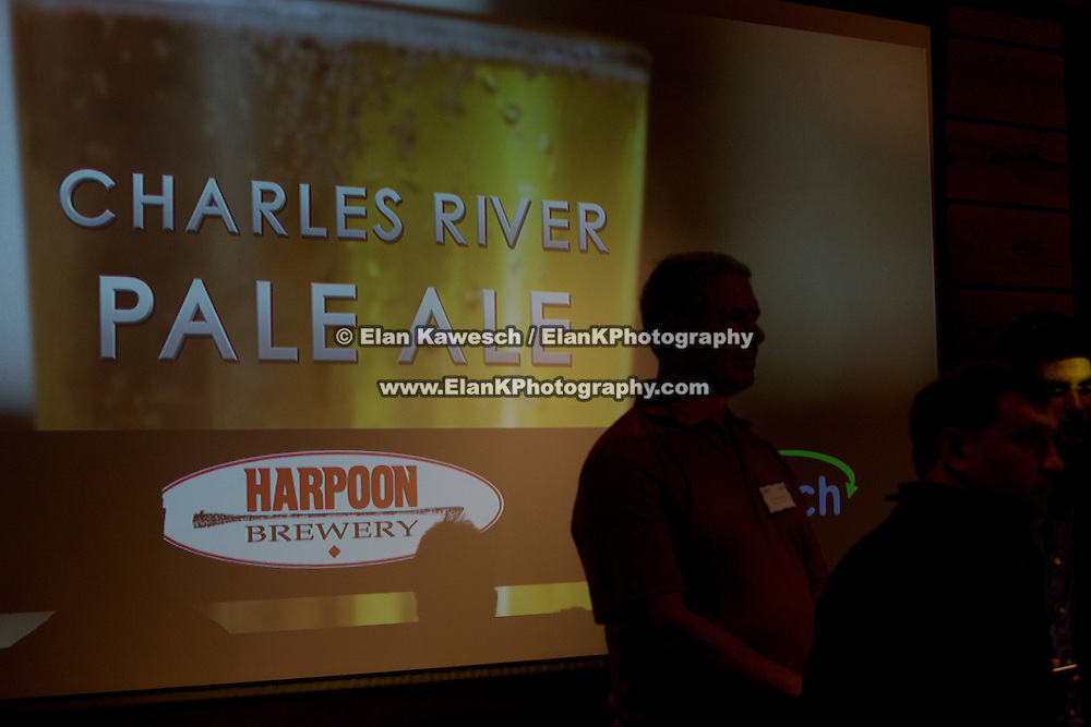Harpoon Brewery holds a press event for their new Charles River beer at Harpoon Brewery on September 30, 2015 in Boston, Massachusetts. (Photo by Elan Kawesch)