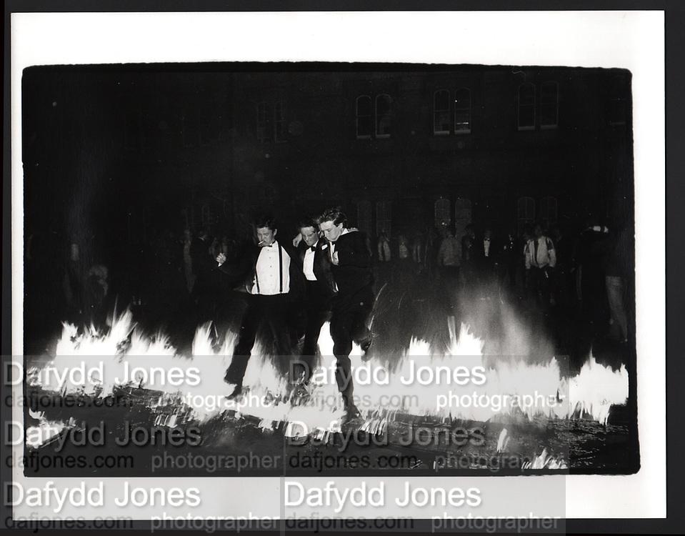 Burning Boat, Oriel College, Oxford, 1981