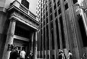 Exterior of the New York Stock Exchange
