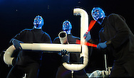 11/11/06 -- Omaha, NE  THe Blue Man Group performs   at the Qwest Center Omaha..Photo by Chris Machian/Prairie Pixel Group
