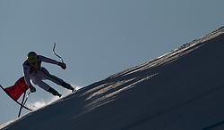 26.01.2013, Streif, Kitzbuehel, AUT, FIS Weltcup Ski Alpin, Abfahrt, Herren, im Bild  Dominik Paris (ITA) // Dominik Paris of Italy in action during mens Downhill of the FIS Ski Alpine World Cup at the Streif course, Kitzbuehel, Austria on 2013/01/26. EXPA Pictures © 2013, PhotoCredit: EXPA/ Juergen Feichter