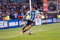 AVELLANEDA, BUENOS AIRES, ARGENTINA - 2017 NOVEMBER 01. Racing Club (27) Pablo Cuadra during the Copa Sudamericana quarter-finals 2nd leg match between Racing Club de Avellaneda and Club Libertad at Estadio Juan Domingo Perón,  <br /> ( Photo by Sebastian Frej )