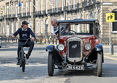 Classic car event, Edinburgh, 9 June 2018