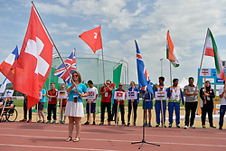 03/08/2017; Opening Ceremony at 2017 World Para Athletics Junior Championships, Nottwil, Switzerland