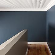 Residential hallway, stair