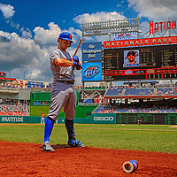 26 July 2013:  New York Mets third baseman David Wright (5) comes to bat in a 15 frame HDR image against the Washington Nationals at Nationals Park in Washington, D.C. where the New York Mets defeated the Washington Nationals, 11-0 in the first game of day night doubleheader.