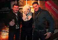 Darragh Colohan JASON and Huey Sweeney at the Jameson Cult Film Club screening of Friday the 13th Part 2 in the Black Box Theatre in Galway.  Photo:Andrew Downes at the Jameson Cult Film Club screening of Friday the 13th Part 2 in the Black Box Theatre in Galway.  Photo:Andrew Downes
