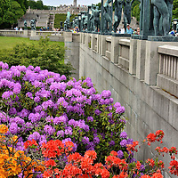 Frogner Park Bridge in Oslo, Norway<br />