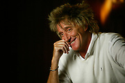 """NEW YORK - FEBRUARY 16: Rod Stewart and contestants tape VH1 """"U Rock"""" at Hit Factory February 16, 2004 in New York City.   (Photo by Matthew Peyton)"""
