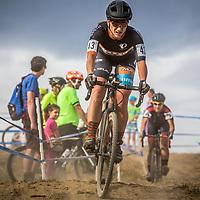 Professional cyclist Cari Higgins