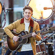 Niall Horan performs on NBC's The Today Show.