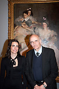 SOPHIE MEYER; ASHLEY MEYER, ; Mrs. Carl Meyer and her Children. John Singer Sargent Migrations private view, Tate Britain. London. 30 January 2012.