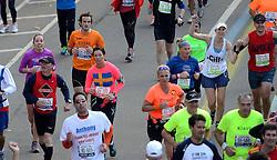 03-11-2013 ALGEMEEN: BVDGF NY MARATHON: NEW YORK <br /> De NY marathon werd weer een groot succes voor de BvdGf. Alle lopers hebben met prachtige tijden de finish gehaald / Stefan finisht in 4:37:37<br /> ©2013-FotoHoogendoorn.nl
