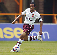 Photo: Jonathan Butler.<br /> Barnet v Arsenal. Pre Season Friendly. 14/07/2007.<br /> Theo Walcott of Arsenal.
