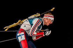 February 18, 2018 - Pyeongchang, Gangwon, South Korea - Johannes Thingnes Boe of  Norway  competing in  15 km mass start biathlon at Alpensia Biathlon Centre, Pyeongchang,  South Korea on February 18, 2018. (Credit Image: © Ulrik Pedersen/NurPhoto via ZUMA Press)