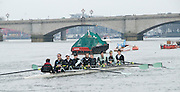 London, Great Britain.  Cambridge, CUBC, Goldie crew, start warm-up,  approaching Putney Bridge, prior to Pre Boat race fixture over the Championship Course  River Thames.  on Saturday  12/03/2011 [Mandatory Credit; Karon Phillips/Intersport Images]..