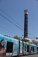 Turkey. Istambul. urban life in Sultan Ahmed district, Tramway