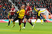 Gerard Deulofeu (7) of Watford looks frustrated after shooting at goal and missing the target during the Premier League match between Bournemouth and Watford at the Vitality Stadium, Bournemouth, England on 12 January 2020.