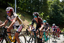 Tiffany Cromwell (AUS) on the first climb at Giro Rosa 2018 - Stage 8, a 126.2 km road race from San Giorgio di Perlena to Breganze, Italy on July 13, 2018. Photo by Sean Robinson/velofocus.com
