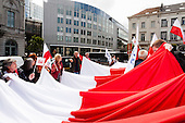 20120605 Polish protest Brussels