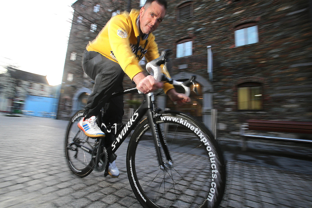 XXJob. 18/01/2013. Sport. Ciaran Power Former Irish Cyclist/Sports Therapist at Waterford City. Photo Patrick Browne