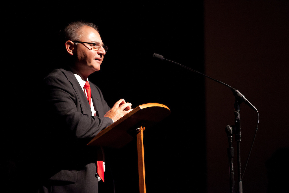 Dr. Peter Jarjisian speaks at the 50th Anniversary of the March on Washington at Templeton -Blackburn Alumni Memorial Auditorium on August 28, 2013.