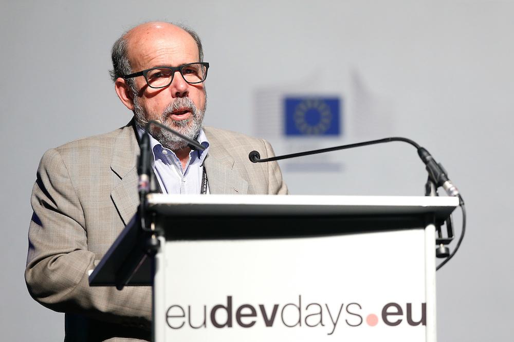 20160616 - Brussels , Belgium - 2016 June 16th - European Development Days - Education in emergencies - Enrique Guerrero Salom , Member , European Parliament - Moderator © European Union