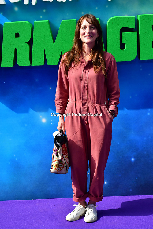 Anna Wilson attend the Shaun the Sheep Movie: Farmageddon, at ODEON LUXE on 22 September 2019,  London, UK.