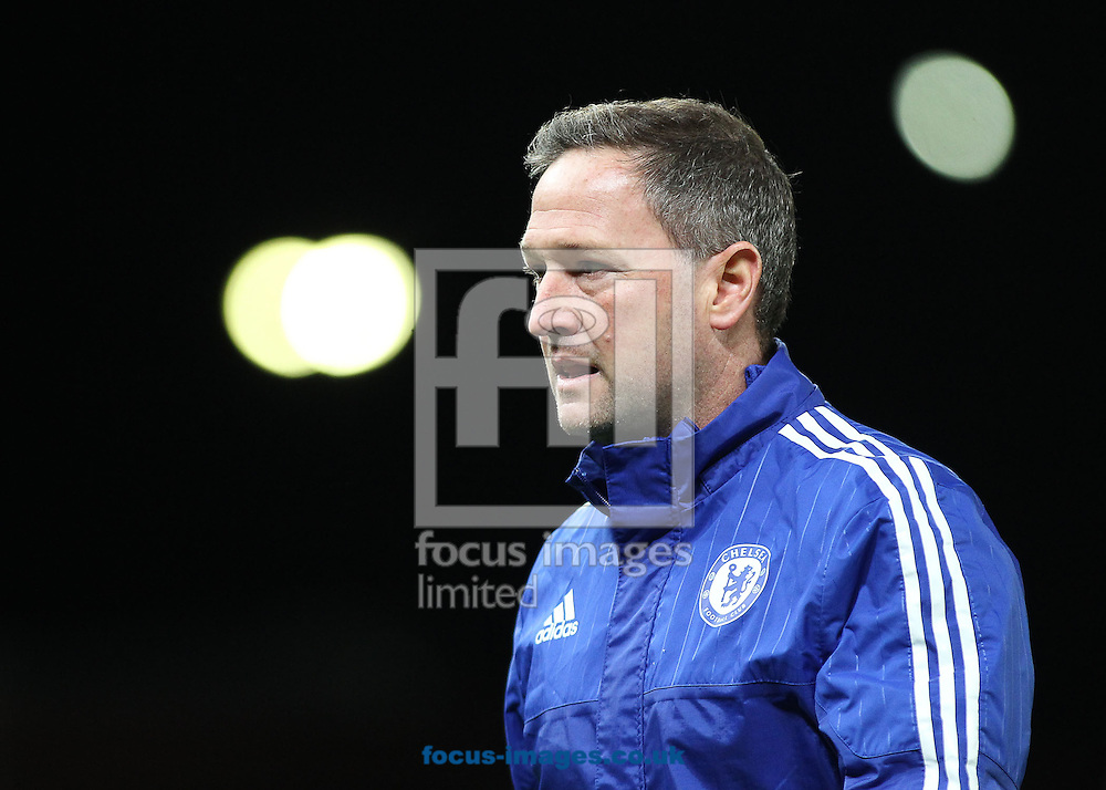 Steve Holland, assistant first team coach of Chelsea, on the pitch prior to  the Barclays Premier League match against Stoke City at the Britannia Stadium, Stoke-on-Trent.<br /> Picture by Michael Sedgwick/Focus Images Ltd +44 7900 363072<br /> 07/11/2015