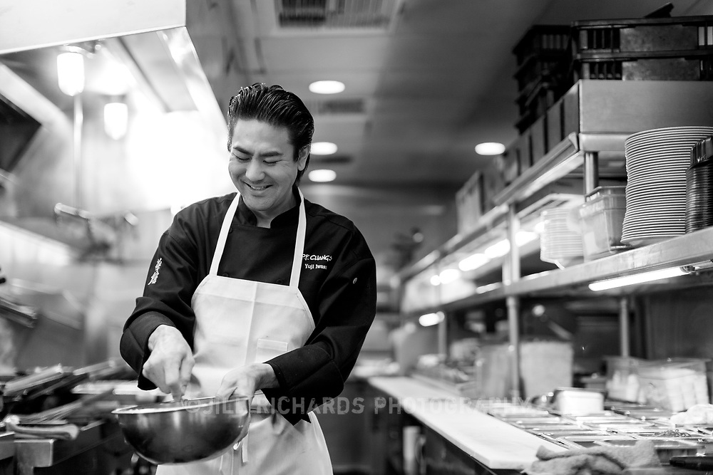 Chef Yuji Iwasa is the Head Development Chef for P.F. Chang's. He honed his craft in some of L.A.'s hottest restaurants, along with developmental staging in NYC, Tokyo, Paris, and Florence, all of which influence his approach to food today.<br /> <br /> &ldquo;My passion toward cooking is to keep things simple; where respect for ingredients and craft allow for natural flavors to shine through.&rdquo;