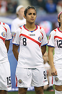 26 October 2014: Daniela Cruz (CRC). The United States Women's National Team played the Costa Rica Women's National Team at PPL Park in Chester, Pennsylvania in the 2014 CONCACAF Women's Championship championship game. By advancing to the final, both teams have qualified for next year's Women's World Cup in Canada. The United States won the game 6-0.