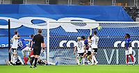 Fotball Menn Eliteserien Rosenborg-Vålerenga<br /> Lerkendal Stadion,Trondheim<br /> 1 juli 2020<br /> <br /> <br /> Ivan Näsberg (22) scorer og utligner til 1-1 for Vålerenga<br /> <br /> <br /> <br /> Foto : Arve Johnsen, Digitalsport