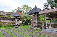 Temple area at Pura Taman Ayun near Mengwi in Bali, Indonesia