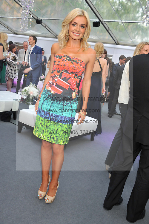 KATHERINE JENKINS at the Glamour Women of the Year Awards 2012 in association with Pandora held in Berkeley Square Gardens, London W1 on 29th May 2012.